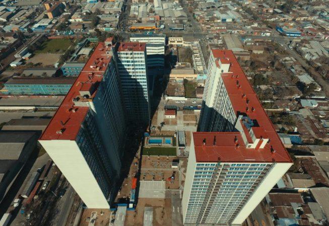Proyecto Edificio Pedro Prado lado b